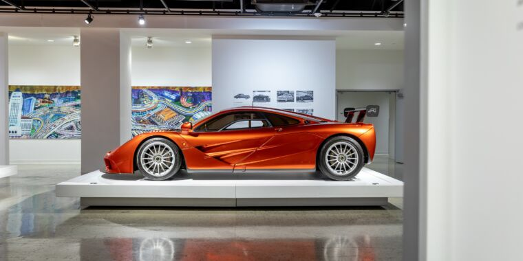 Weekend eye candy: The new supercar exhibit at the Petersen Museum thumbnail