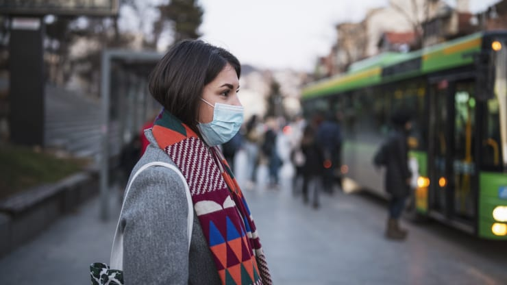 If you're among the vulnerable population, the WHO recommends you wear a medical mask, especially when social-distancing measures can't be achieved.