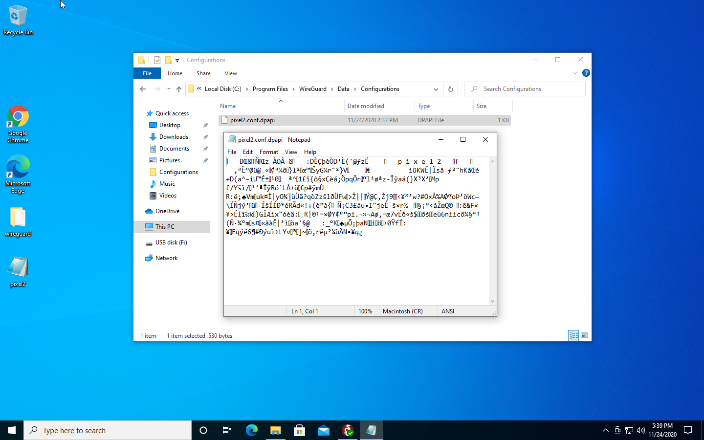 WireGuard used to store its configs under the user directory. Windows 10 really didn't like that, so it's (properly, in our opinion) been moved to a global configuration directory at C:Program FilesWireGuardDataConfigurations.