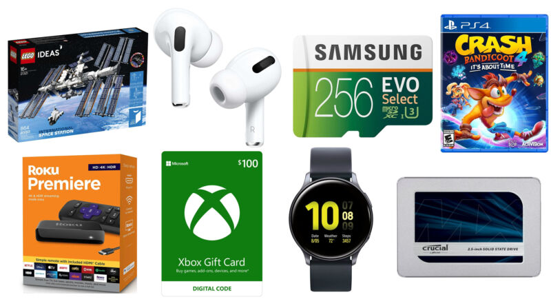 A selection of today's top deals.