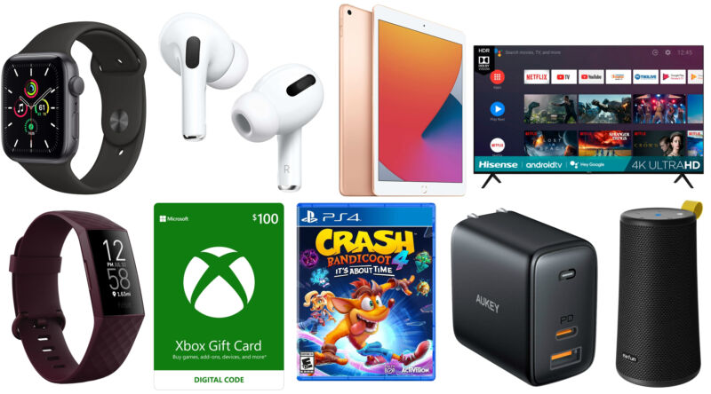 iPad, Fitbit, Bluetooth speakers, and more