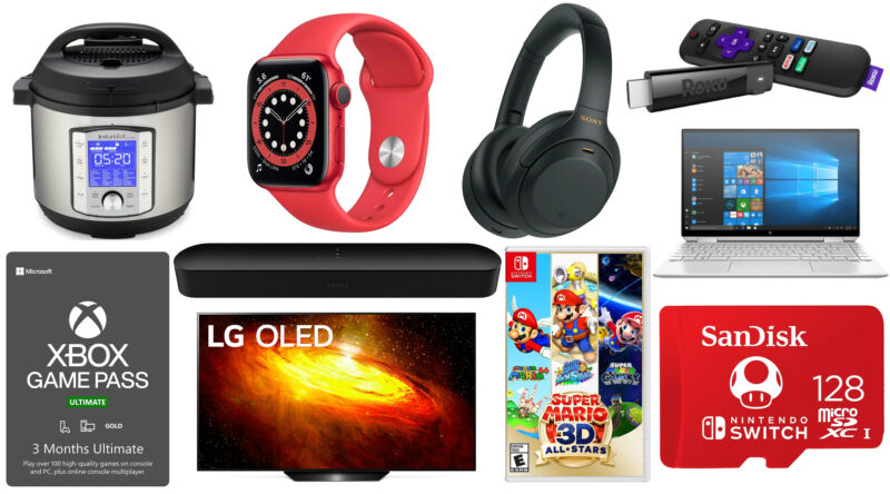 Black Friday once again brings tons of new low prices on good gadgets and tech gear.