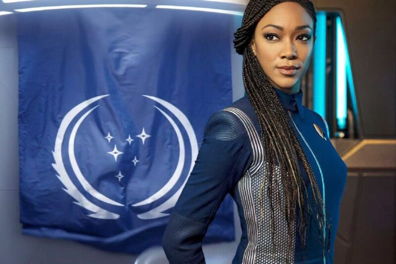 Sonequa Martin-Green plays Michael Burnham in the third season of <em>Star Trek: Discovery</em>, which is set over 900 years in the future from the first two seasons.