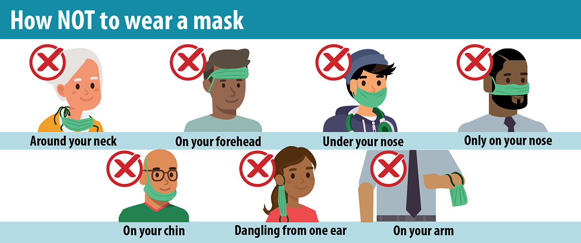 Please, don't treat your mask like this.