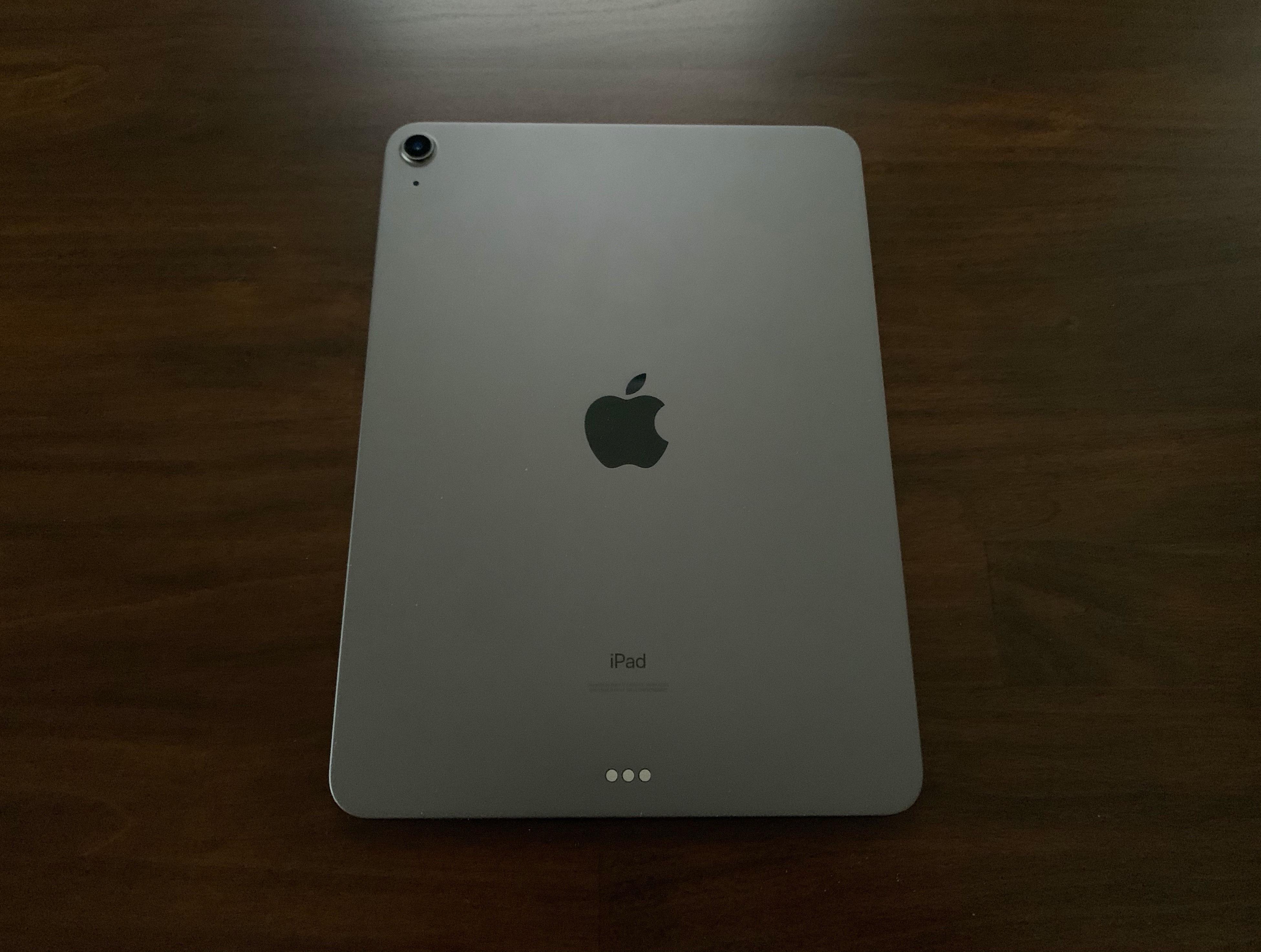 The 2020 Apple iPad Air.