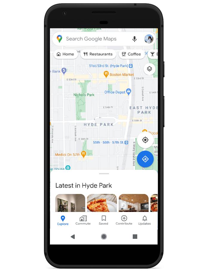 Google Maps' new 'Community