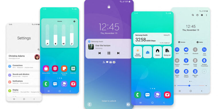 Samsung finally starts its Android 11 rollout, three months after release