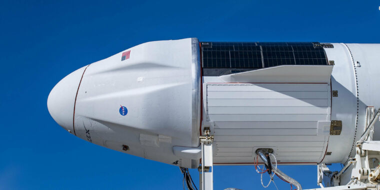 SpaceX's new cargo spacecraft may make its debut on Saturday – Ars Technica