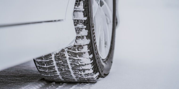 These tires work better in snow thanks to 3D printing