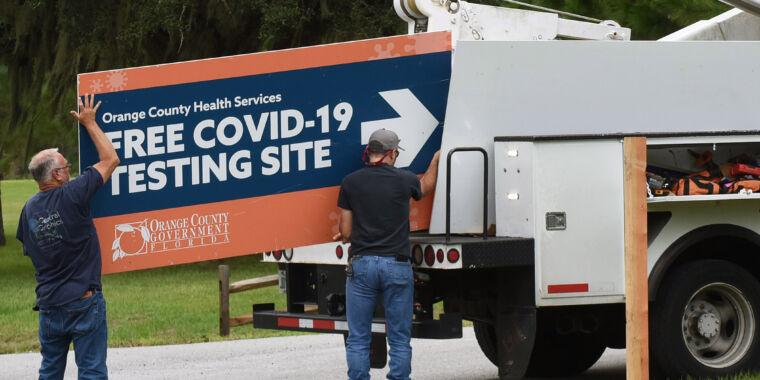 Florida police raid home of former state coronavirus data manager thumbnail