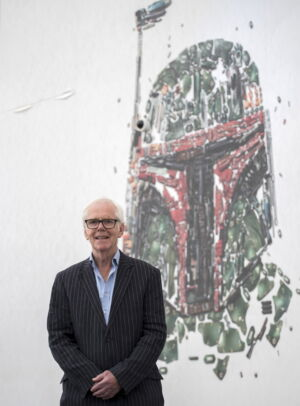 "Jeremy Bulloch attends a photo call at the ""Star Wars Identities: The Exhibition"" on July 26, 2017, in London."
