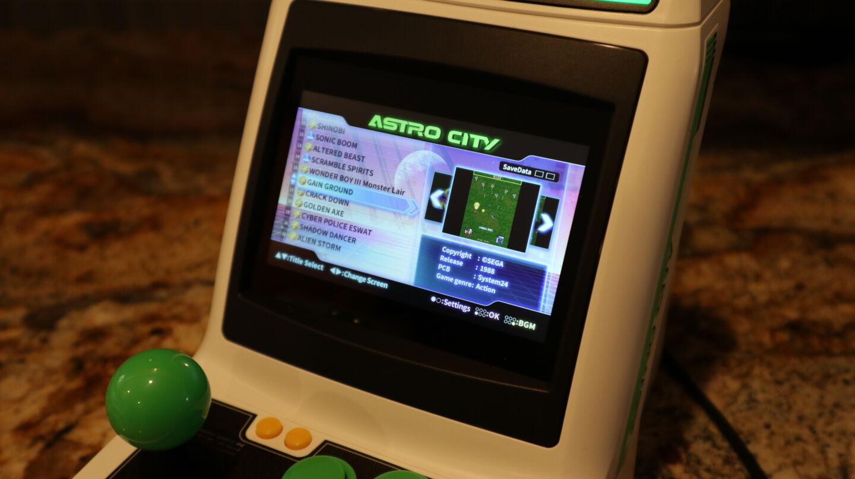 Clássicos de fliperama da Sega perdidos renovados no bonito Astro City Mini de US $ 130 Dolares 4