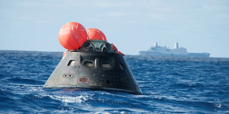 The Orion spacecraft is now 15 years old and has flown into space just once