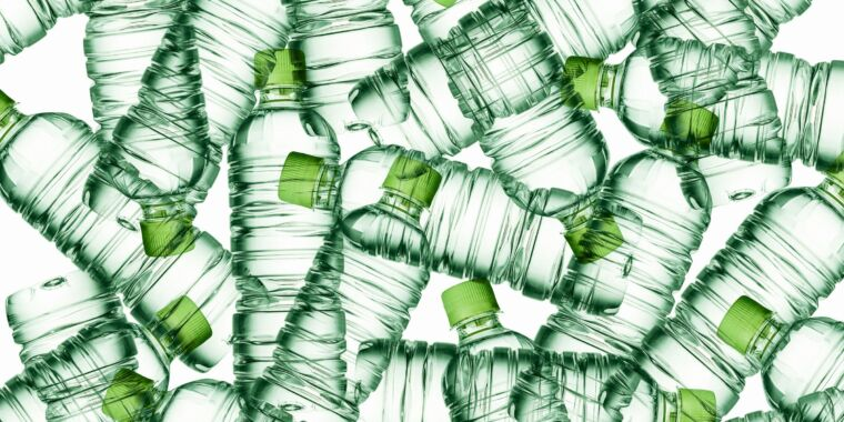 The incredible journey of the electronic plastic bottle