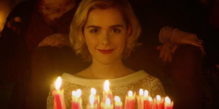 Eldritch terrors come forth in Chilling Adventures of Sabrina S4 trailer thumbnail
