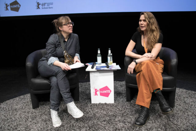 Swedish adult film Director Erika Lust (right) says MindGeek