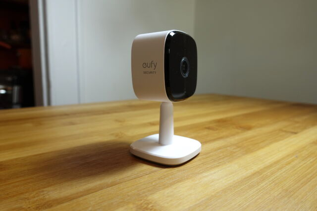 Eufy's Indoor Cam 2K is a great value for those who want to keep an eye on their home when away.