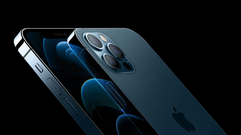Promotional image of iPhone.