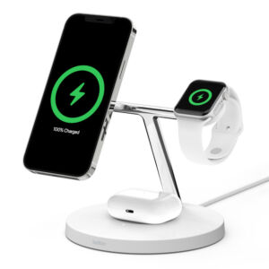 Belkin Boost Charge Pro 3-in-1 Wireless MagSafe Charger product image