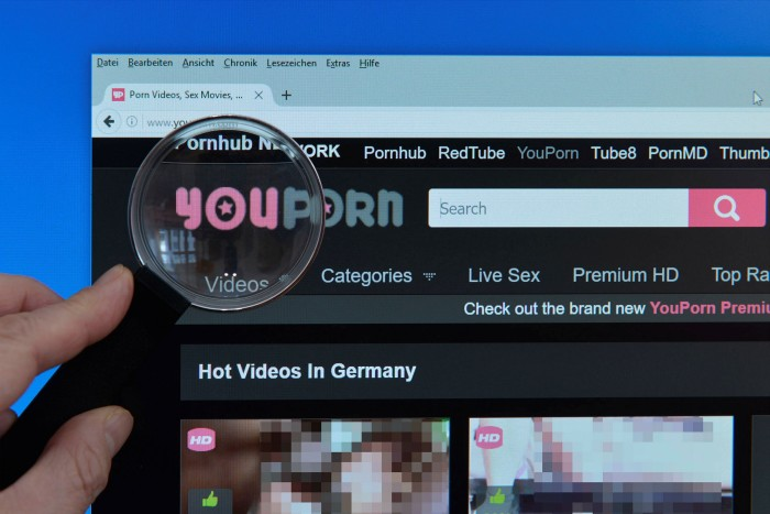 YouPorn is one of several of the adult content industry's most visited sites that are owned by MindGeek.