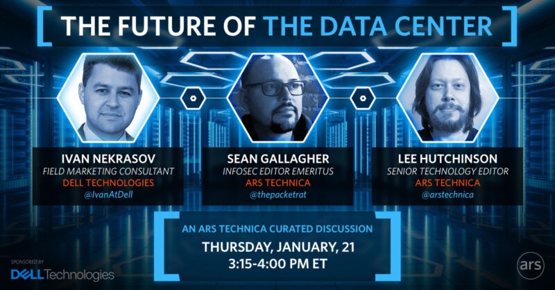 Ars online IT roundtable Thursday: What's the future of the data center?