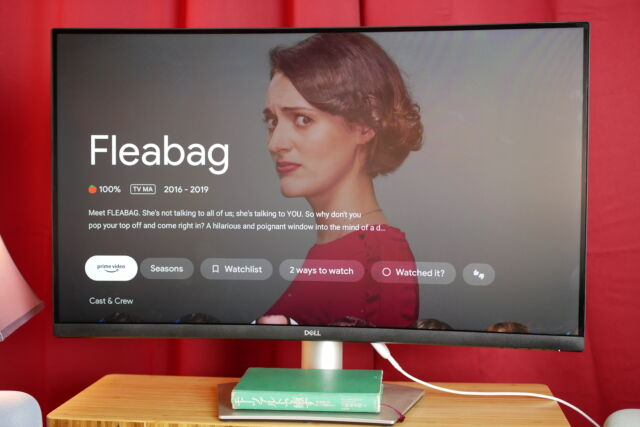 Phoebe Waller-Bridge, always a winner. And inthe Great Streaming Stick Wars of 2021™,the winner is...
