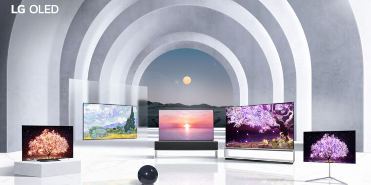 LG's 2021 OLED TVs are modest upgrades but computer monitors are coming – Ars Technica