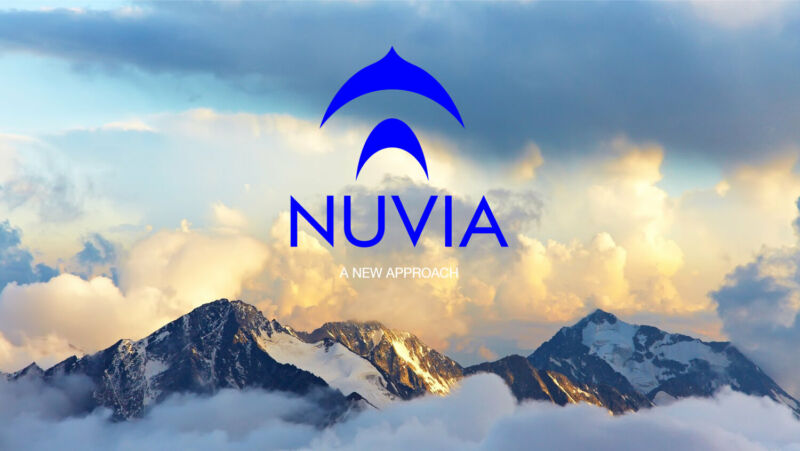 A company logo is superimposed over a cloud-swollen mountaintop.