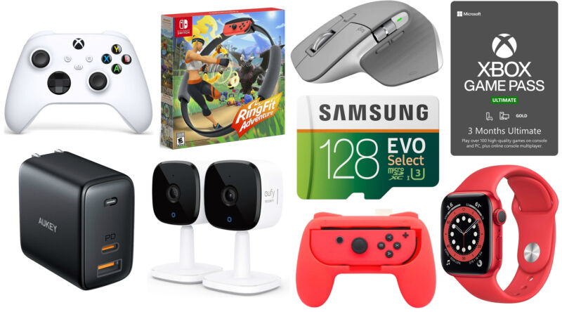 Today's best technical offers: Logitech mice, Ring Fit Adventure and others