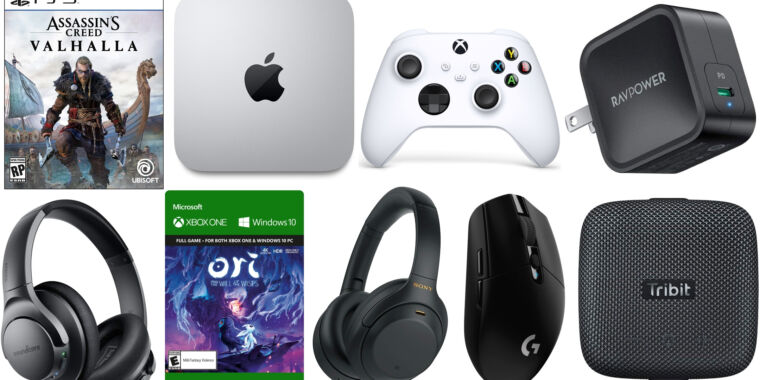 Today's best tech deals: Apple's M1 Mac Mini, Xbox controllers, and more