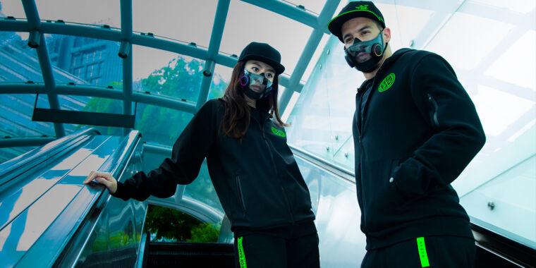 N95 masks gamer style: Razer's crazy face-mask prototype revealed – Ars Technica