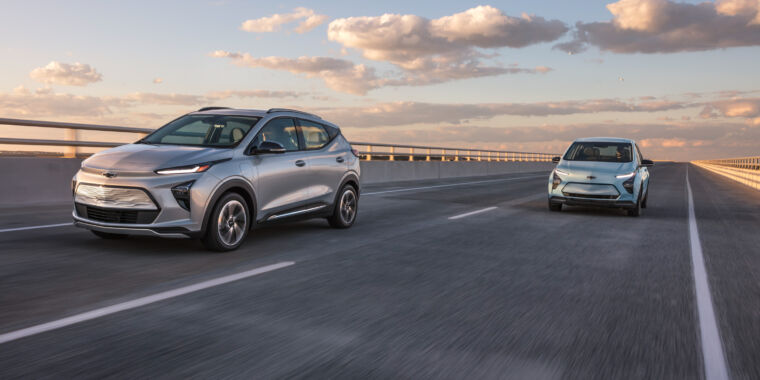 Chevrolet gives the Bolt EV a facelift, a stretch, and a price cut