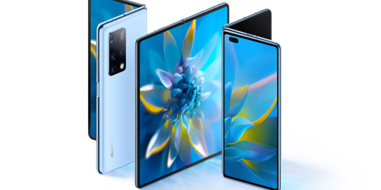 Huawei's new $2,800 foldable telephone duplicates Samsung's Galaxy Fold line thumbnail