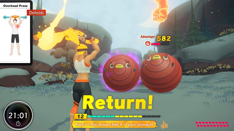 <em>Ring Fit Adventure</em> for the Nintendo Switch.