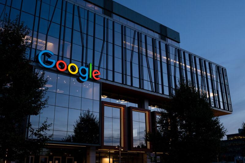 Google, by night.