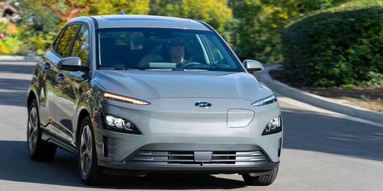 Hyundai will recall 82,000 Kona EVs to replace batteries - Ars Technica