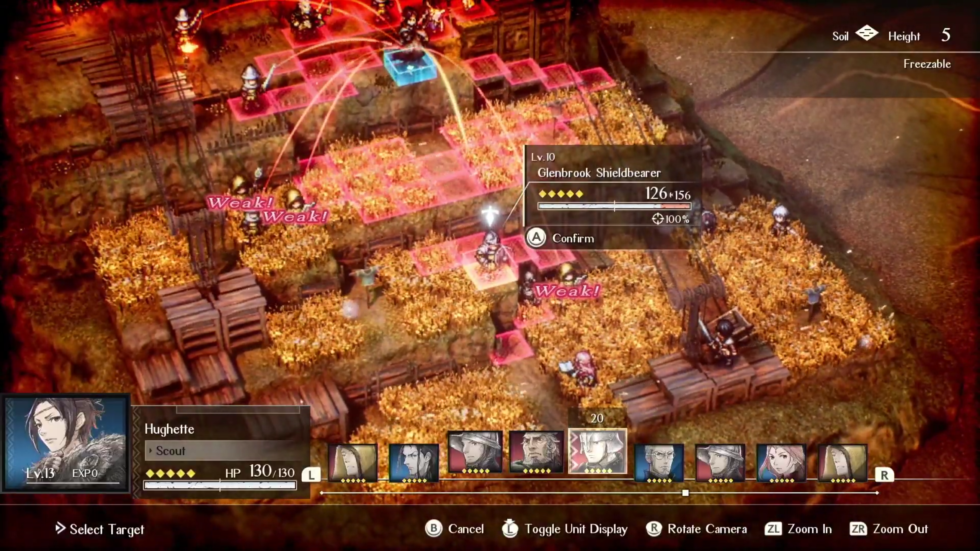 <em>Project Triangle Strategy</em> will continue Squeenix's streak of handsome 2D/3D RPG hybrids, combining old-school sprites with atmospheric effects.