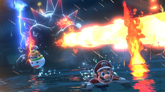 The new <em>Bowser's Fury</em>add-on to the recently released remake of<em>Super Mario 3D World</em>.