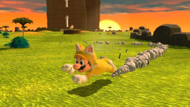 <em>Super Mario 3D World + Bowser's Fury</em>.