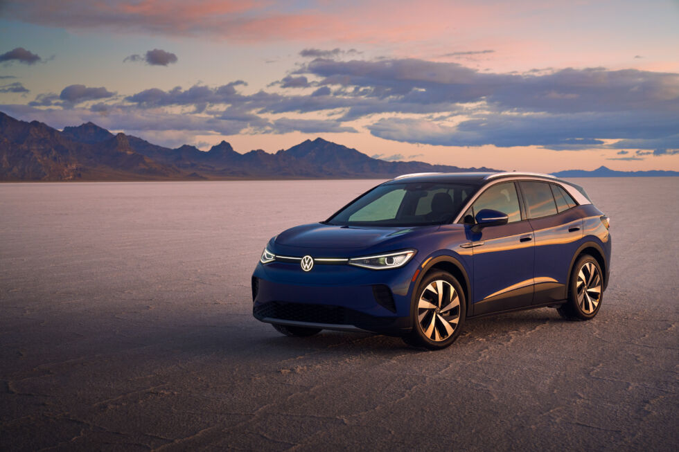 2021's World Car of the Year goes to the electric Volkswagen ID.4