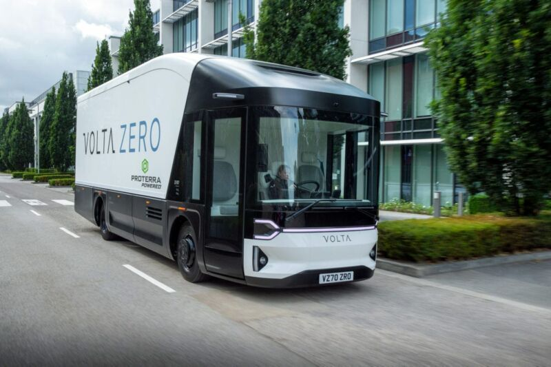 The Volta Zero commercial delivery truck should go into production by 2022.