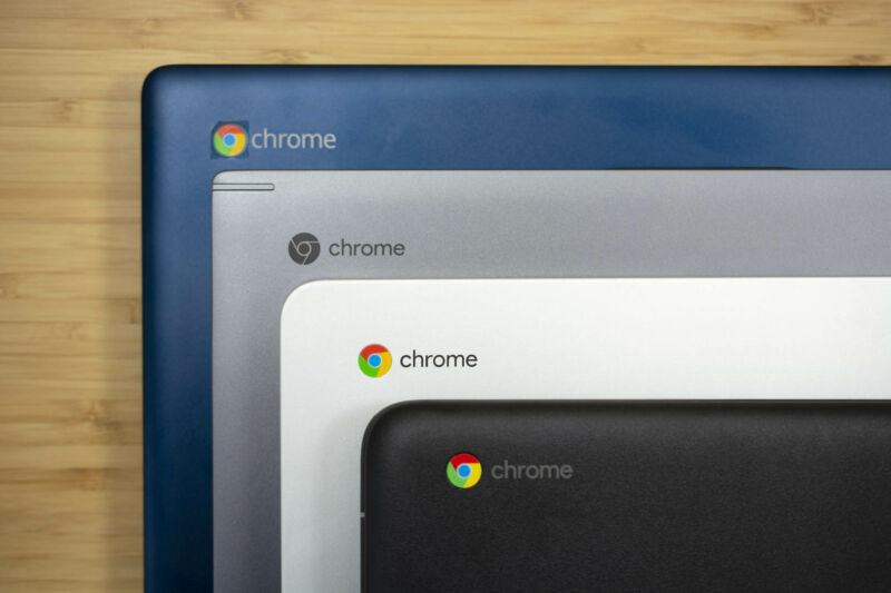 Just a few of the Chromebooks we've reviewed and tested in recent years.