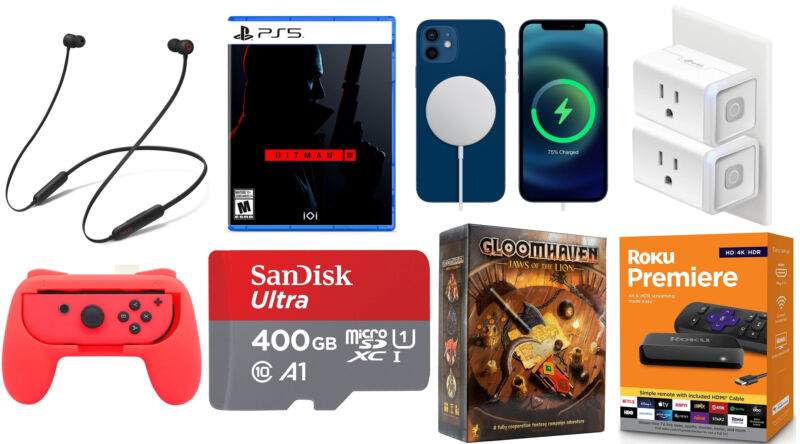 Today's best tech deals: Hitman 3, 400GB microSD cards, and more
