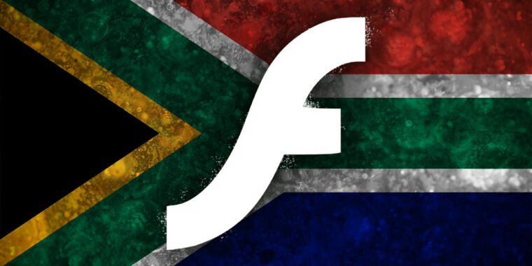 Flash no longer works in browsers—so South Africa made its own browser