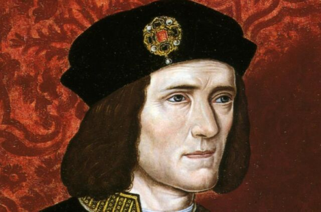 Late 16th century portrait of Richard III.