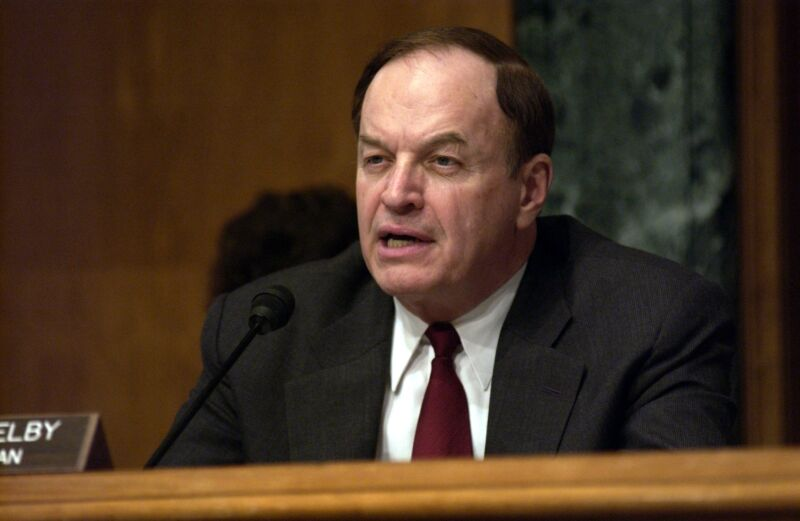 Retiring Sen. Richard C. Shelby, R-Ala.
