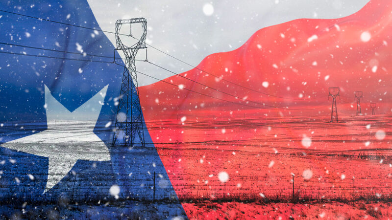 Deep in the heart of Texas' collapsing power grid