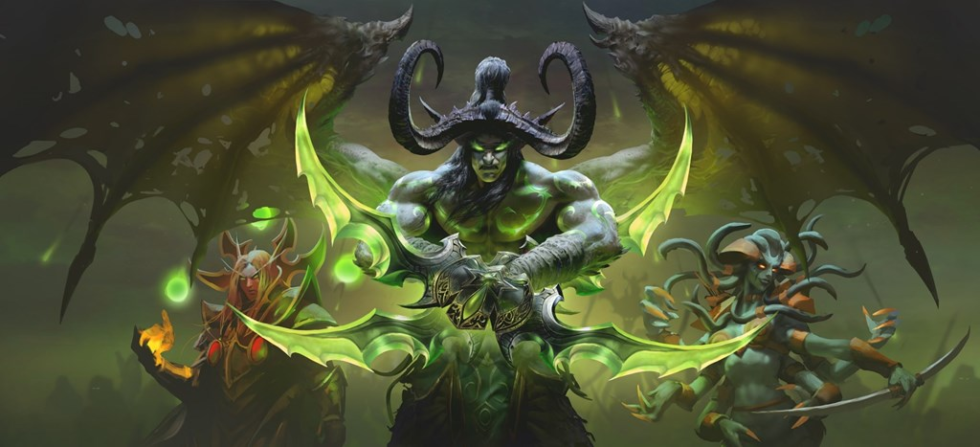 Delectable new <em>Burning Crusade</em> art, also part of today's pre-BlizzCon leak.