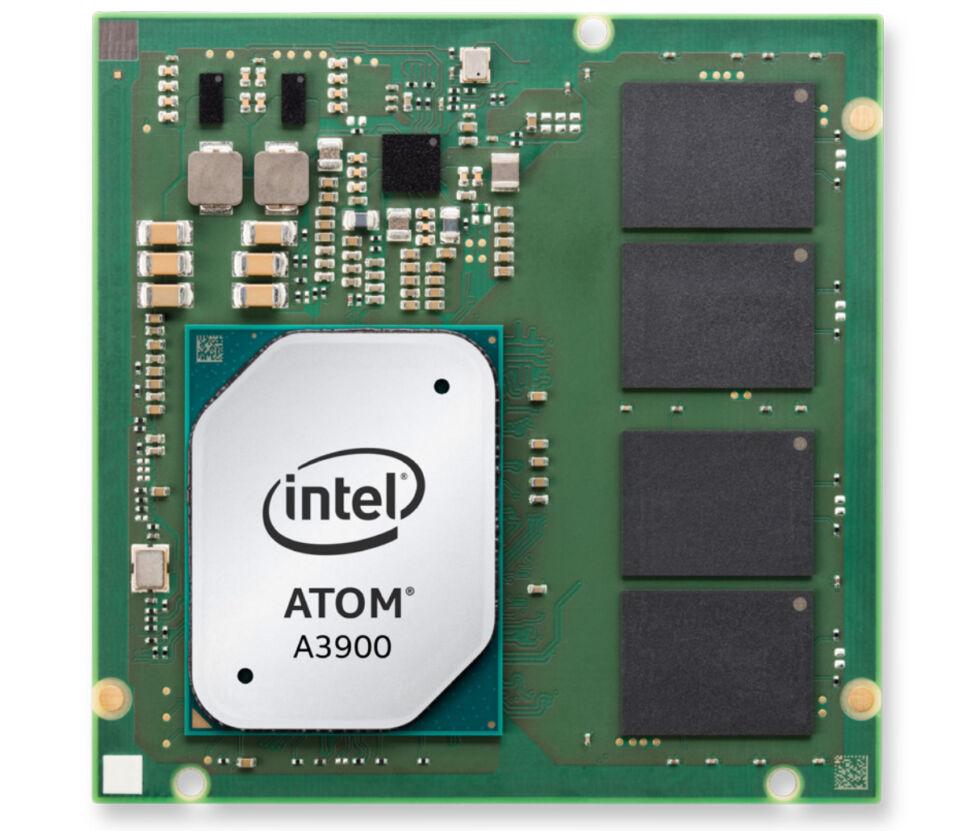 The Intel Atom A3900 SoC.