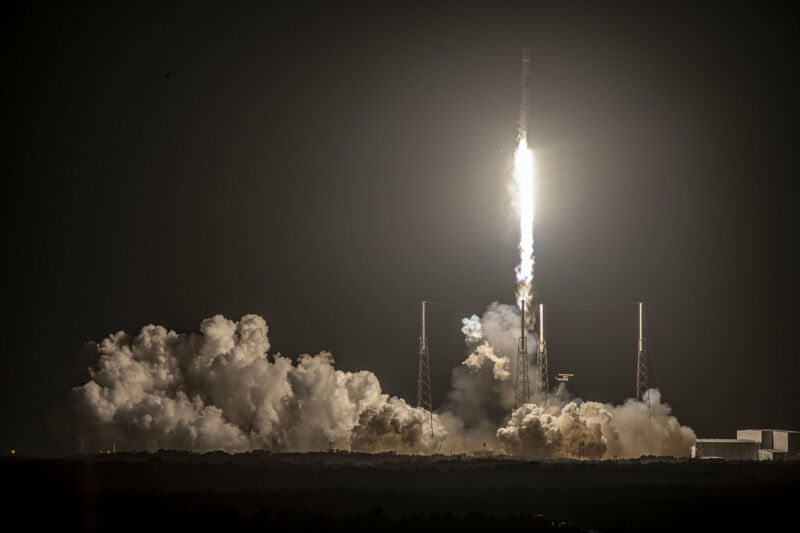 In mid-February a Falcon 9 launch was successful, but the first stage failed to land.